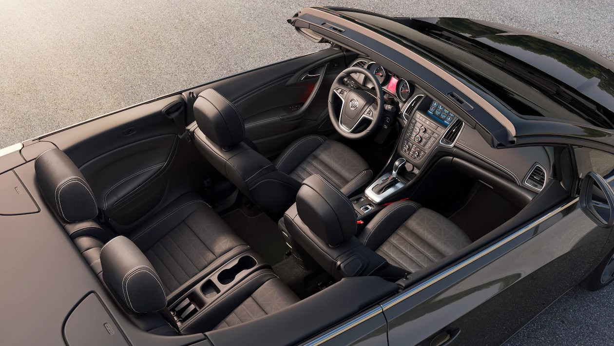 2019 Buick Cascada Top Down Black Interior